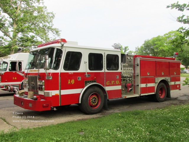 Seagrave Fire Apparatus >> Cincinnati Fire Department - Station 18